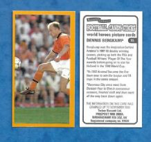 Holland Dennis Bergkamp Arsenal 15 (TBWH)
